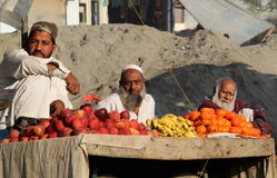 Povos em Paquistão Imagens de Stock Royalty Free