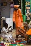 Povos em ruas indianas Imagem de Stock Royalty Free