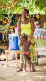 Povos em Togo, África Foto de Stock Royalty Free