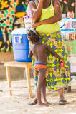 Povos em Togo, África Fotos de Stock