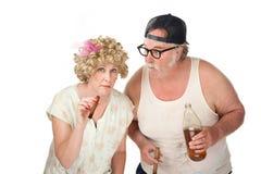 Povos estranhos Foto de Stock Royalty Free