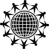 Povos globais ilustração stock
