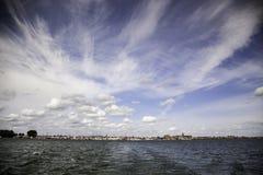 Povos holandeses do mar foto de stock