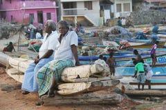 Povos indianos da vila Imagens de Stock