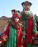 Povos, máscara do carnaval de Veneza fotos de stock royalty free