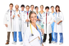 Povos médicos Imagens de Stock