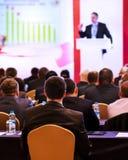 Povos na conferência imagem de stock
