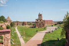 Povos na fortaleza de Oreshek Fotografia de Stock Royalty Free