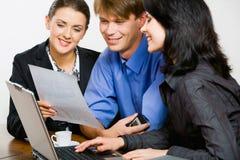 Povos na reunião Imagem de Stock Royalty Free