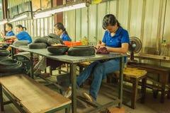 Povos na rua do país asiático - Vietname e Camboja Imagem de Stock Royalty Free