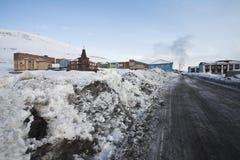 Povos nas montanhas - expedição do inverno Fotos de Stock Royalty Free