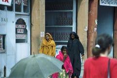 Povos nas ruas da Índia Imagens de Stock Royalty Free