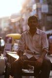 Povos nas ruas de India Imagens de Stock Royalty Free