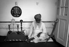 Povos nas ruas de India Fotos de Stock Royalty Free