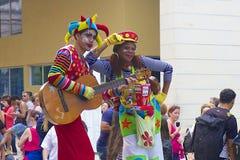 Povos nativos em Havana Cuba, das caraíbas Foto de Stock Royalty Free
