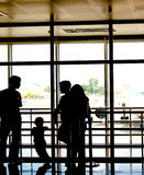 Povos no aeroporto Imagem de Stock Royalty Free