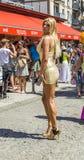 Povos no dia da rua de christopher em Francoforte Imagens de Stock Royalty Free