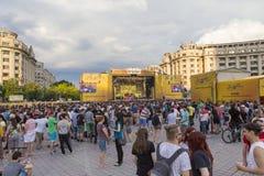Povos no festival Imagem de Stock Royalty Free