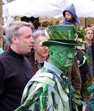 Povos no Jack no festival verde Imagens de Stock Royalty Free