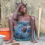 Povos no PORTO-NOVO, BENIN Foto de Stock Royalty Free