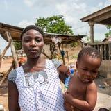 Povos no PORTO-NOVO, BENIN Foto de Stock