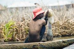 Povos no PORTO-NOVO, BENIN Fotos de Stock