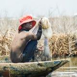 Povos no PORTO-NOVO, BENIN Imagens de Stock Royalty Free