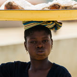 Povos no PORTO-NOVO, BENIN Fotografia de Stock