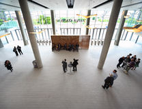 Povos no salão no congresso de CEPIC Foto de Stock
