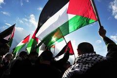 Povos palestinos Imagem de Stock