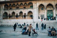 Povos que descansam em Istambul Fotografia de Stock Royalty Free