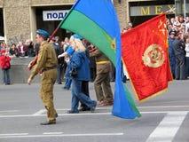 Parada militar em St Petersburg, Rússia imagem de stock royalty free