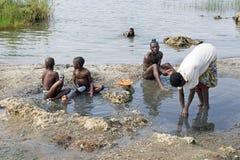 Povos ruandeses Imagem de Stock