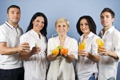Povos saudáveis do grupo Fotos de Stock Royalty Free