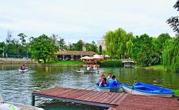 Povos Sofia Bulgaria do enfileiramento do lago Ariana Imagem de Stock