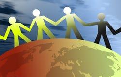 Povos unidos Imagem de Stock