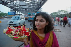 Povos urbanos de Kolkata Foto de Stock Royalty Free
