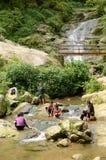 Povos vietnamianos rurais Fotos de Stock Royalty Free