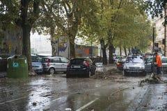 Powódź Zdjęcia Stock