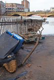 Powódź Uszkadzający towary Zdjęcie Royalty Free