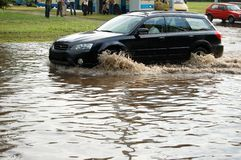 powódź 2 fotografia royalty free
