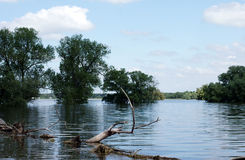 Powódź Zdjęcie Royalty Free