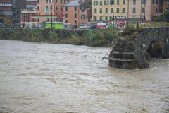 Powódź Fotografia Stock