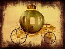 powóz Cinderella royalty ilustracja