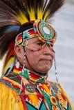Pow-överraska dansaren royaltyfri bild