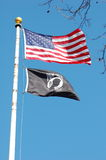 POW MIA Flag Stock Photography