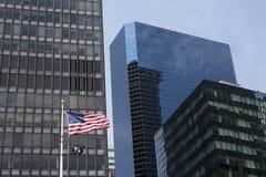 POW/MIA flag in Manhattan Stock Photography