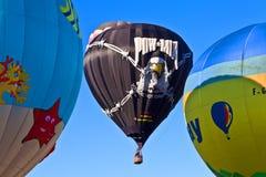 POW*MIA gorącego powietrza balony Zdjęcia Royalty Free