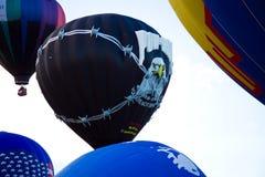 POW MIA gorącego powietrza balon Zdjęcie Royalty Free