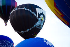 POW MIA Hot Air Balloon Royalty Free Stock Photo